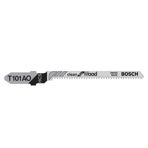 Plywood OSB Pack of 5 Bosch T119BO Jigsaw Blades For Cutting Softwood
