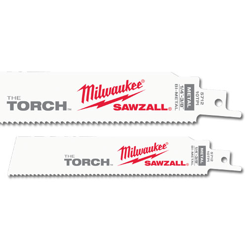 Milwaukee 48-00-8784 THE TORCH™ Sawzall® Blades - 6 x 1 x .042, 18 TPI,