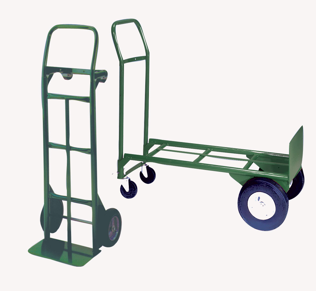 Hand Caster For Sale: Diamond Tool: Wesco 656-21-Z2 2-1 Steel Hand Truck With