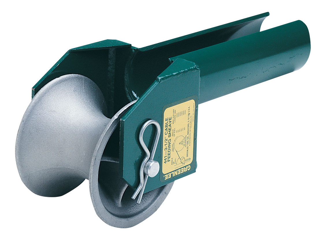 Diamond Tool: Greenlee 441-3 Cable Feeding Sheave for 3\
