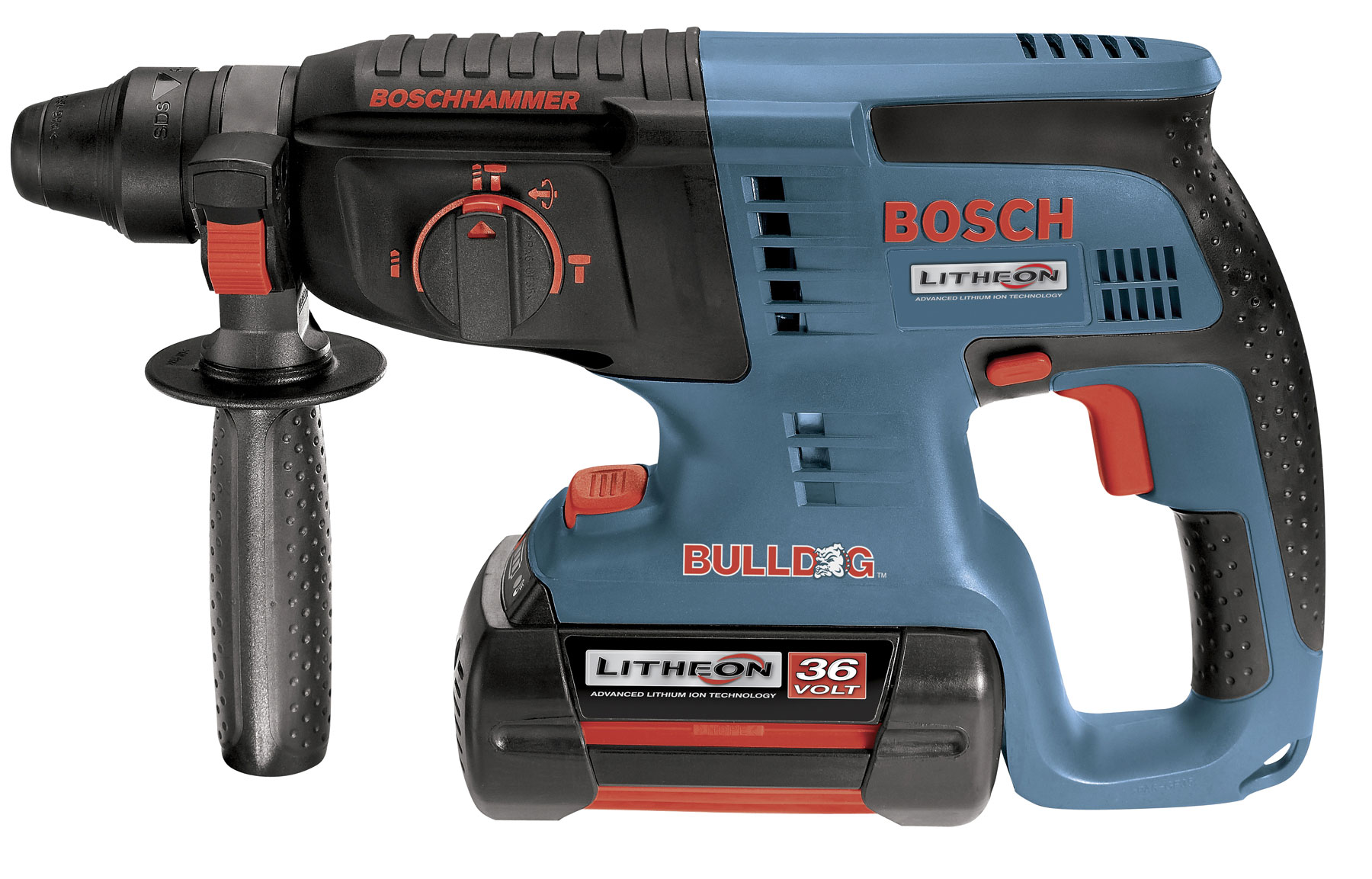 diamond tool bosch 11536vsr 36v cordless 1 sds plus rotary hammer. Black Bedroom Furniture Sets. Home Design Ideas