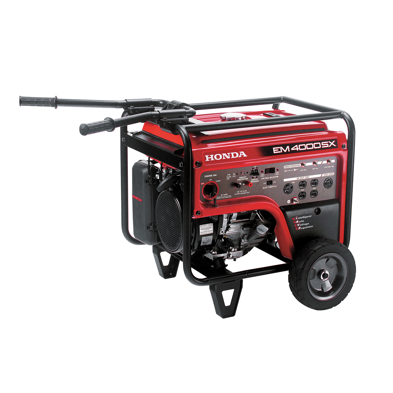 Honda EM4000SXAT 4000W Gas Generator 3500W Rated Electric Start Ignition -