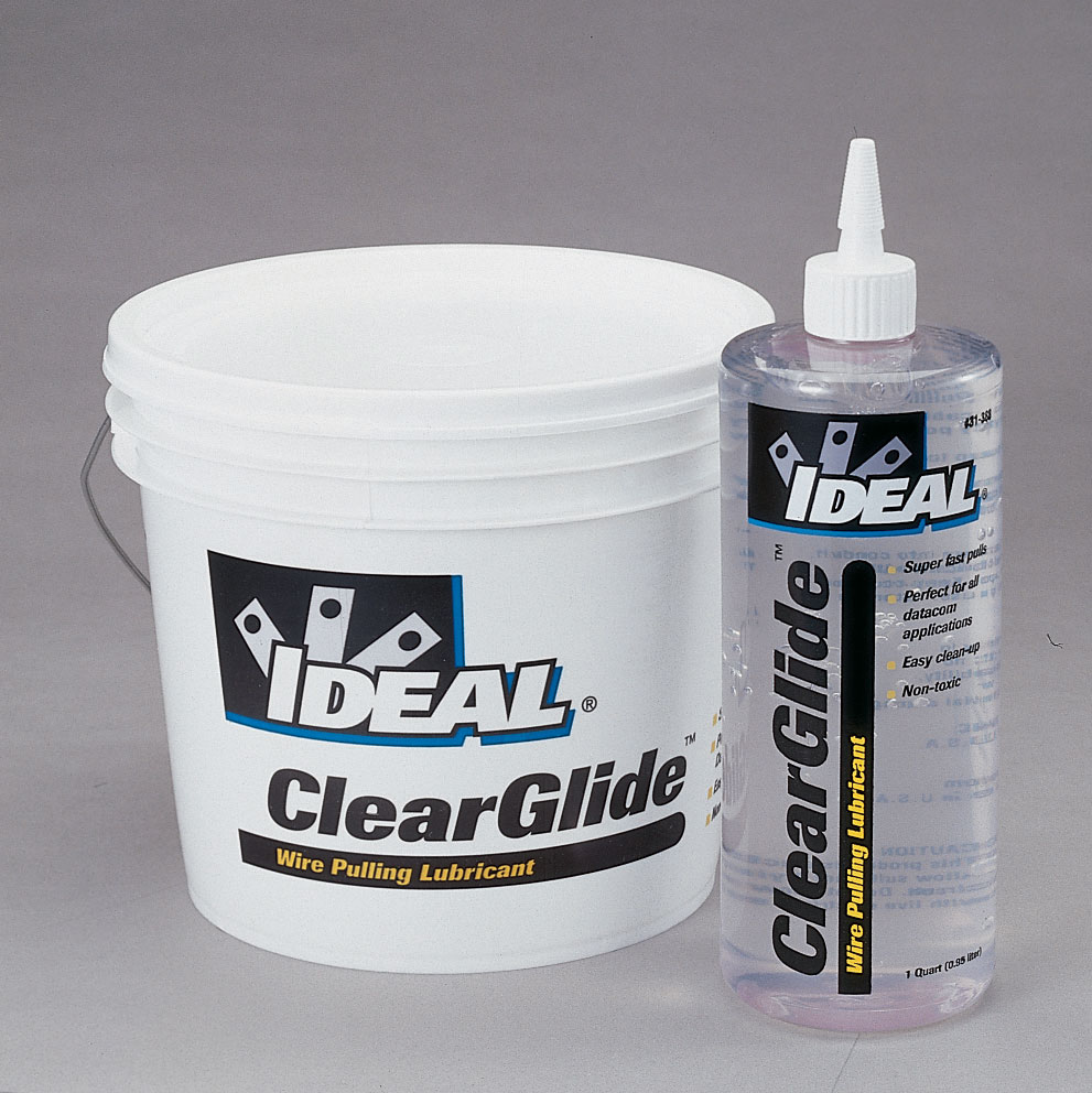 Diamond Tool: Ideal 31-389 ClearGlide™ Wire Pulling Lubricant