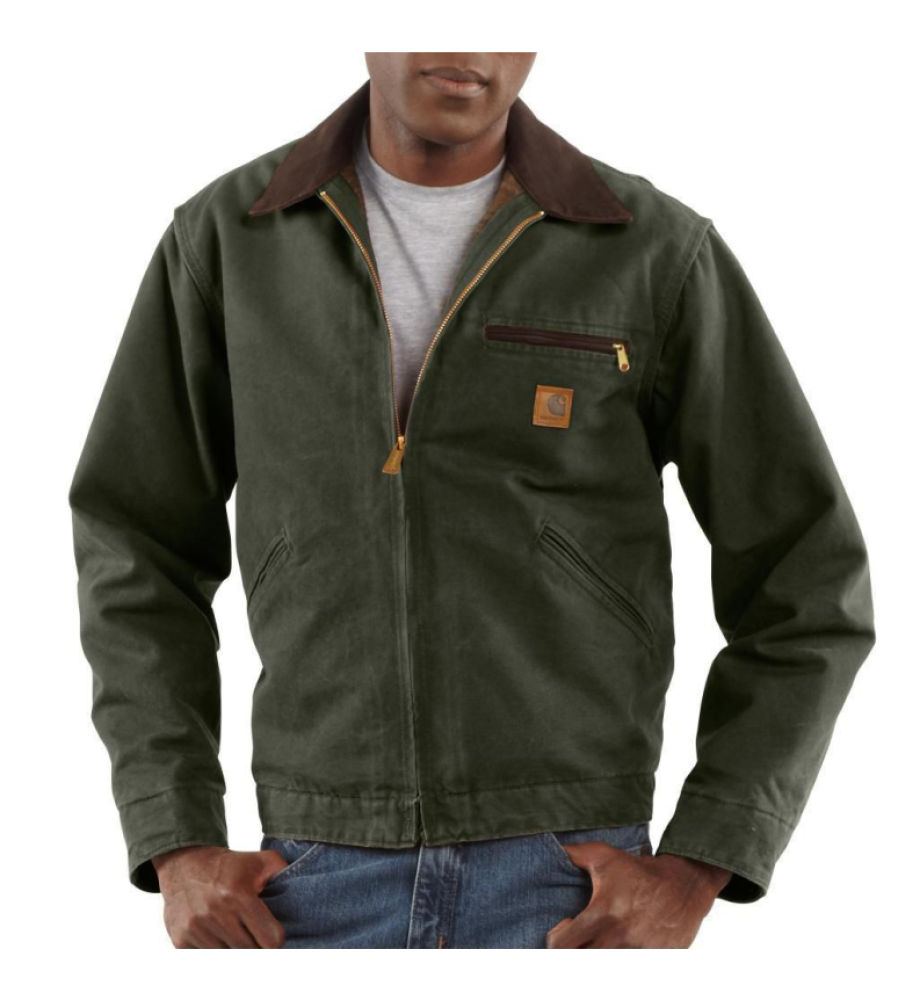 Diamond Tool: Carhartt J97 Men's Sandstone Detroit Jacket ...