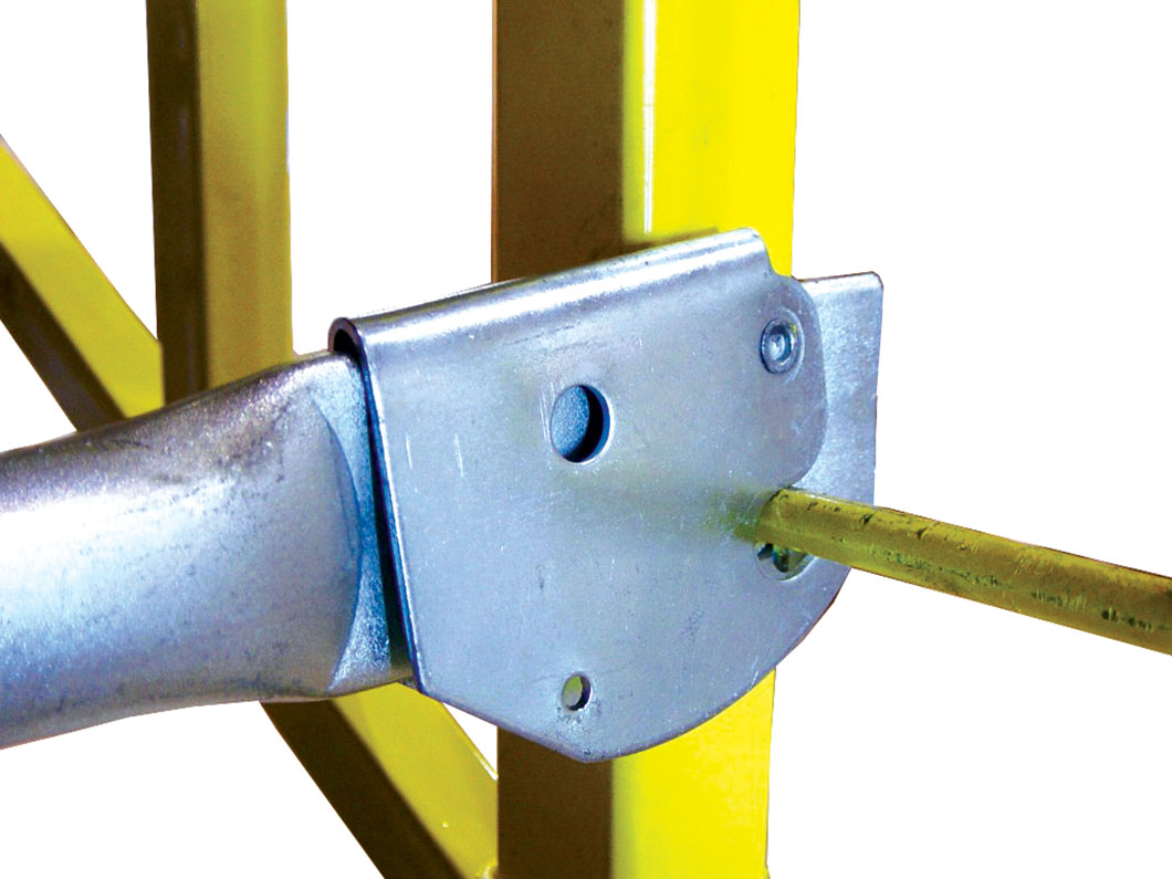 Snap On Scaffolding : Diamond tool guardian fall protection guardrail