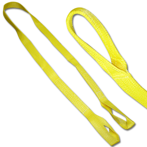 "Nylon Eye & Eye Lifting Sling - 2 Ply, 4"" x 20'"