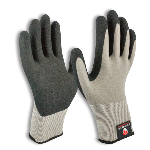 Armor Guys 00-001-XXL Kyorene Black Nitrile Palm Gloves - XXL, w/Gray Graph