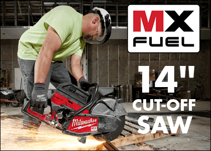 "Milwaukee MX Fuel 14"" Cut Off Saw"