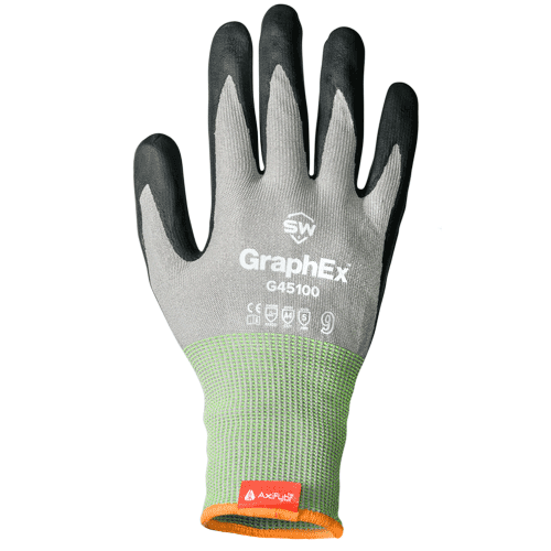 SW Safety G451004-L GraphEx G45100 Mechanical Gloves - Large